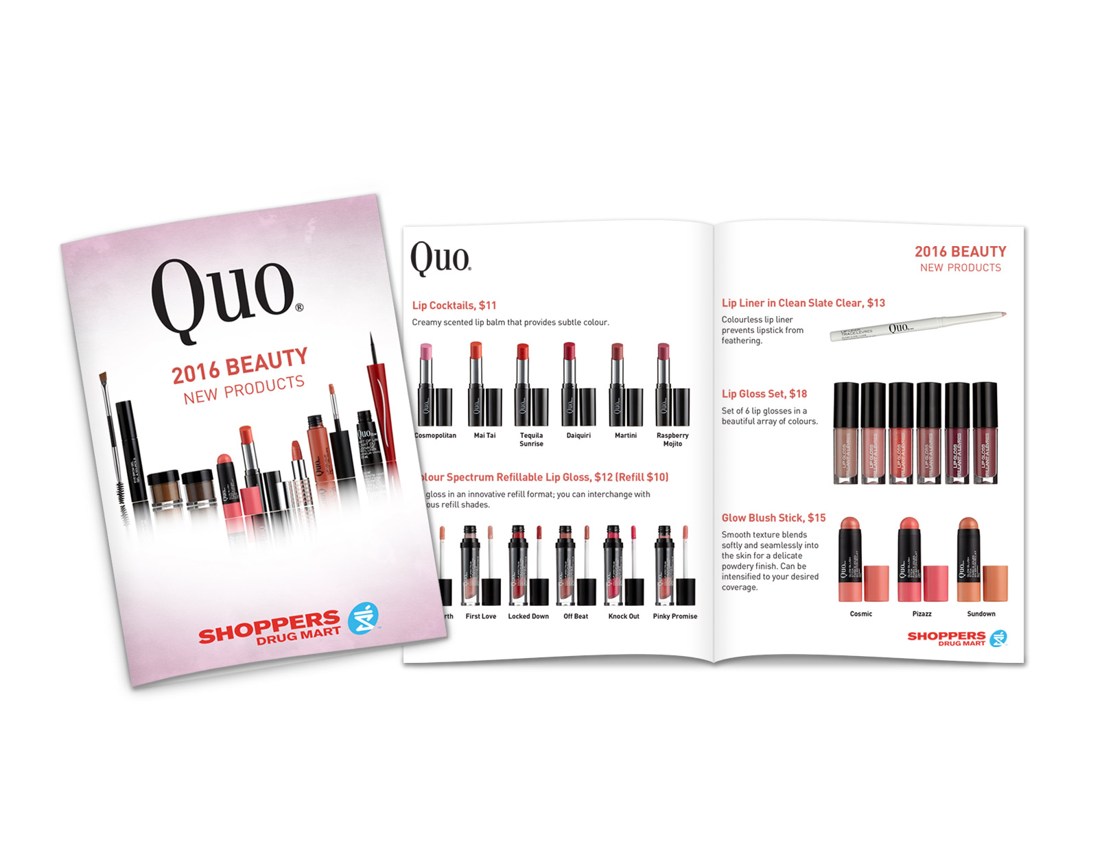 Quo Product Catalogue